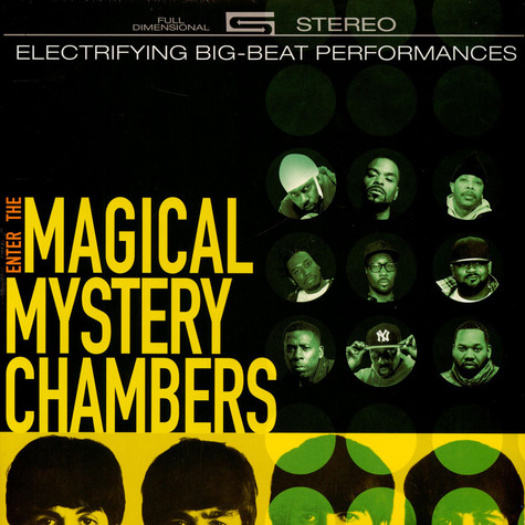 Wu-Tang Vs The Beatles - Enter The Magical Mystery Chambers Pink Vinyl Edition