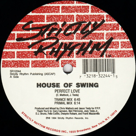 House Of Swing - Perfect Love