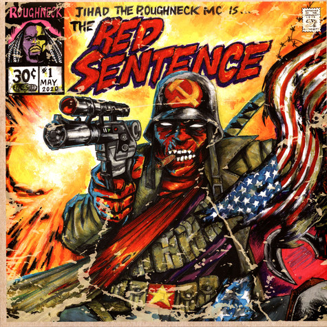 Roughneck Jihad - The Red Sentence Red / Purple Vinyl Edition