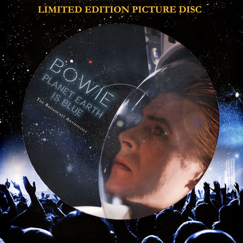 David Bowie - Planet Earth Is Blue Picture Disc Edition
