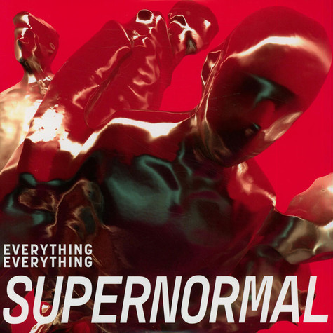 Everything Everything - Supernormal Berry & Green Splatter Record Store Day 2021 Edition