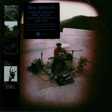 Ben Howard - Variations. Volume 1 Record Store Day 2021 Edition