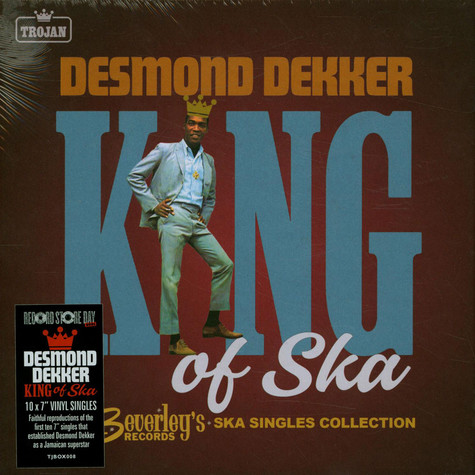 Desmond Dekker - King Of Ska The Early Singles Collection 1963-1966 Record Store Day 2021 Edition