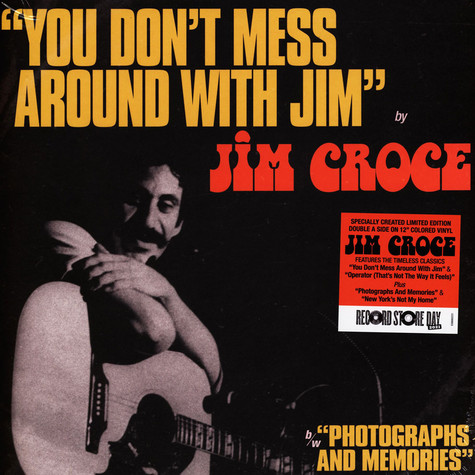 Jim Croce - You Don't Mess Around With Jim / Operator (That's Not The Way It Feels) Record Store Day 2021 Edition