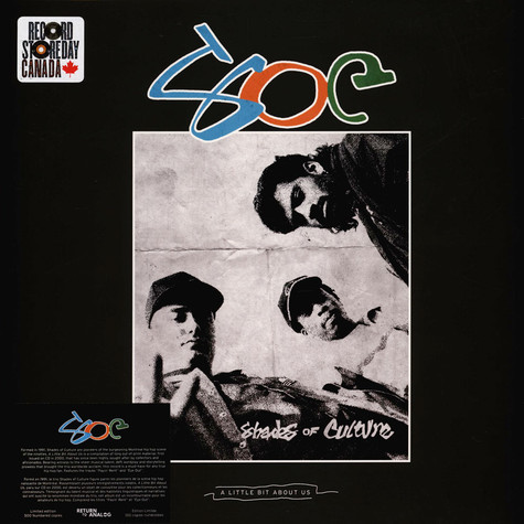 Shades Of Culture - A Little Bit About Us Record Store Day 2021 Edition