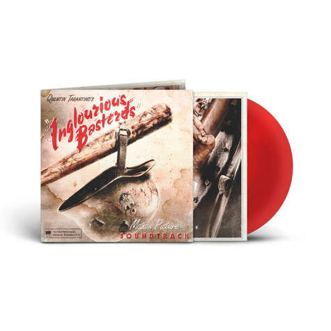 V.A. - OST Quentin Tarantino's Inglourious Basterds Blood Red Vinyl Edition