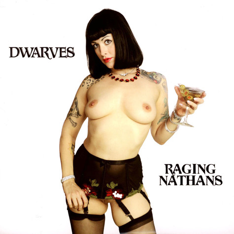 Dwarves / The Raging Nathans - Split EP Clear Red Vinyl Edition