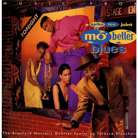Branford Marsalis Quartet Featuring Terence Blanchard - Music From Mo' Better Blues
