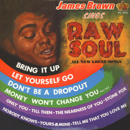 James Brown - Sings raw soul
