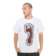 A Tribe Called Quest - Lyrics Foot T-Shirt