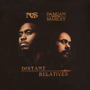 Nas & Damian Marley - Distant Relatives Clear Vinyl Edition