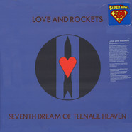 Love And Rockets - Seventh Dream Of Teenage Heaven Black Vinyl Edition