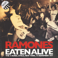 Ramones - Eaten Alive - The 4 Acres - New York - 1977 White Vinyl Edition