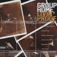 Group Home - Livin Proof Deluxe Colored Vinyl Edition