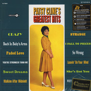 Patsy Cline - Greatest Hits 45RPM, 200g Vinyl Edition