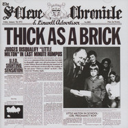 Jethro Tull - Thick As A Brick - Steven Wilson 2012 Remix