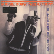 Boogie Down Productions - By All Means Necessary Black Vinyl Edition
