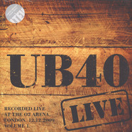 Ub40 - Live 2009 - Volume 1 Clear Vinyl Edition