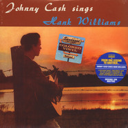 Johnny Cash - Johnny Cash Sings Hank Williams Clear Vinyl Edition