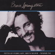 Bruce Springsteen - Fifth Of February, Bryn Mawr - WWMR FM