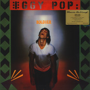 Iggy Pop - Soldier Clear Green/Black Vinyl Edition