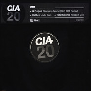 Q Project / DLR / Calibre / Total Science - CIA 20 Album Sampler