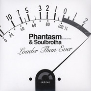 Phantasm (of Cella Dwellas) & Soulbrotha - Louder Than Ever / Louder Than Ever Brooklyn Remix Red Vinyl Edition