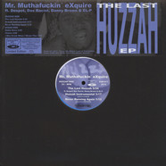 Mr. Muthafuckin' eXquire - The Last Huzzah EP White & Blue Vinyl Edition