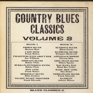 V.A. - Country Blues Classics Volume 2