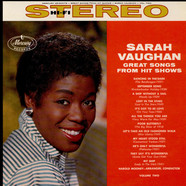 Sarah Vaughan - Great Songs From Hit Shows, Vol. 2