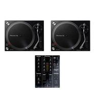 Pioneer DJ - DJ Set (2x PLX-500 K Turntable | 1x DJM-350 Mixer) Bundle