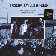 Crosby, Stills & Nash - United Nations Assembly, November 18, 1989 UN-FM