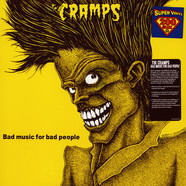 Cramps, The - Bad Music For Bad People 200g Black Vinyl Edition