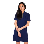 Fred Perry - Bomber Neck Pique Dress