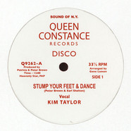 Kim Taylor /Licky - Stump Your Feet & Dance / African Rock