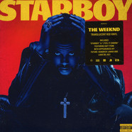 Weeknd, The - Starboy Transculent Red Vinyl Edition