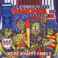 V.A. - A Tribute To Ramones: We're A Happy Family Colored Vinyl Edition