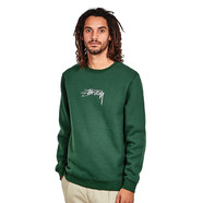 Stüssy - Smooth Stock Applique Crewneck Sweater