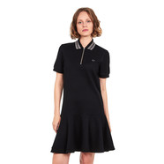 Fred Perry - Peplum Pique Dress
