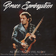 Bruce Springsteen - The Stockholm Broadcast 1988