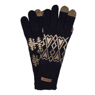 Pendleton - Jacquard Knit Gloves