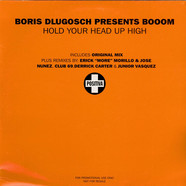 Boris Dlugosch Presents Booom! - Hold Your Head Up High