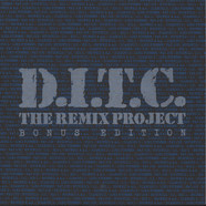 D.I.T.C. - D.I.T.C. The Remix Project: Bonus Edition Splatter Vinyl Edition Ink Stamped Promo