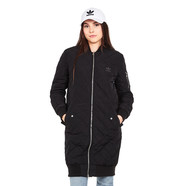 adidas - Long Bomber Quilted Jacket