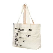 101 Apparel - Vinyl Rules Tote Bag