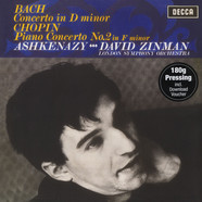 Vladimir Ashkenazy & London Philarmonic Orchestra with David Zinman - Bach: Concerto In D-Minor / Chopin: Piano Concert No. 2