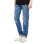 Edwin - ED-80 Slim Tapered Jeans CS Power Blue Denim, 11.5oz