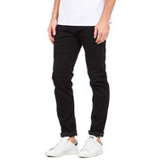 Edwin - Modern Regular Tapered Jeans Black Japanese Stretch Denim, 11.5oz