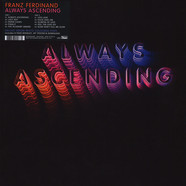 Franz Ferdinand - Always Ascending Limited Deluxe White Vinyl Edition