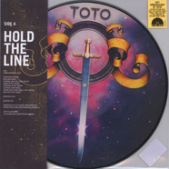 Toto - Hold The Line / Alone Picture Disc Edition